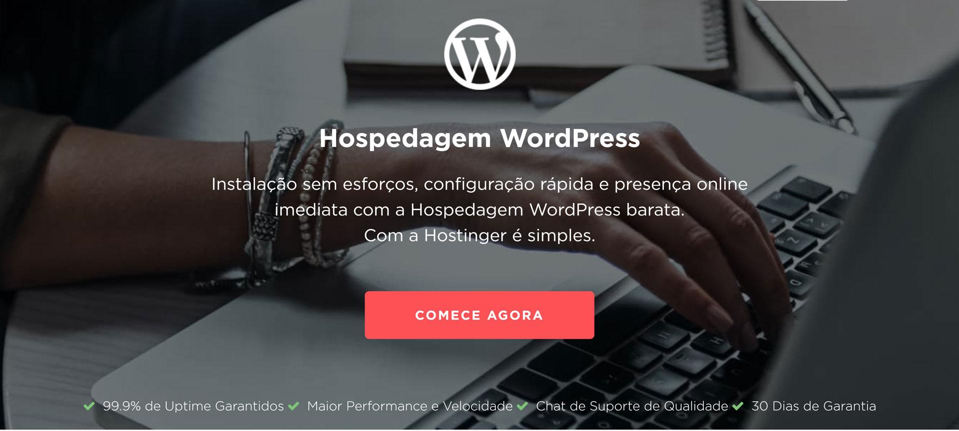 hostinger hospedagem wordpress
