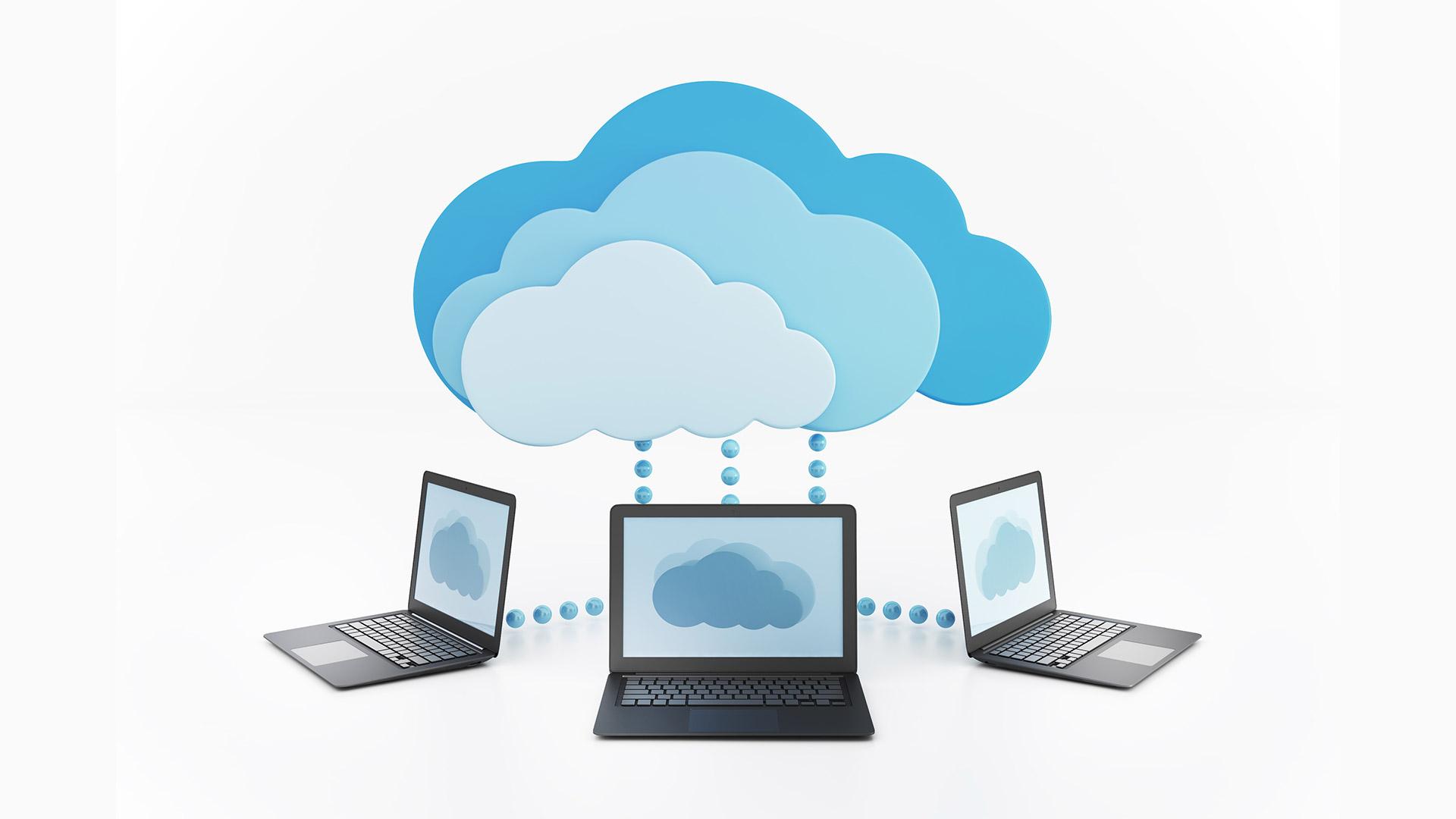 servidor cloud computing funcionamento