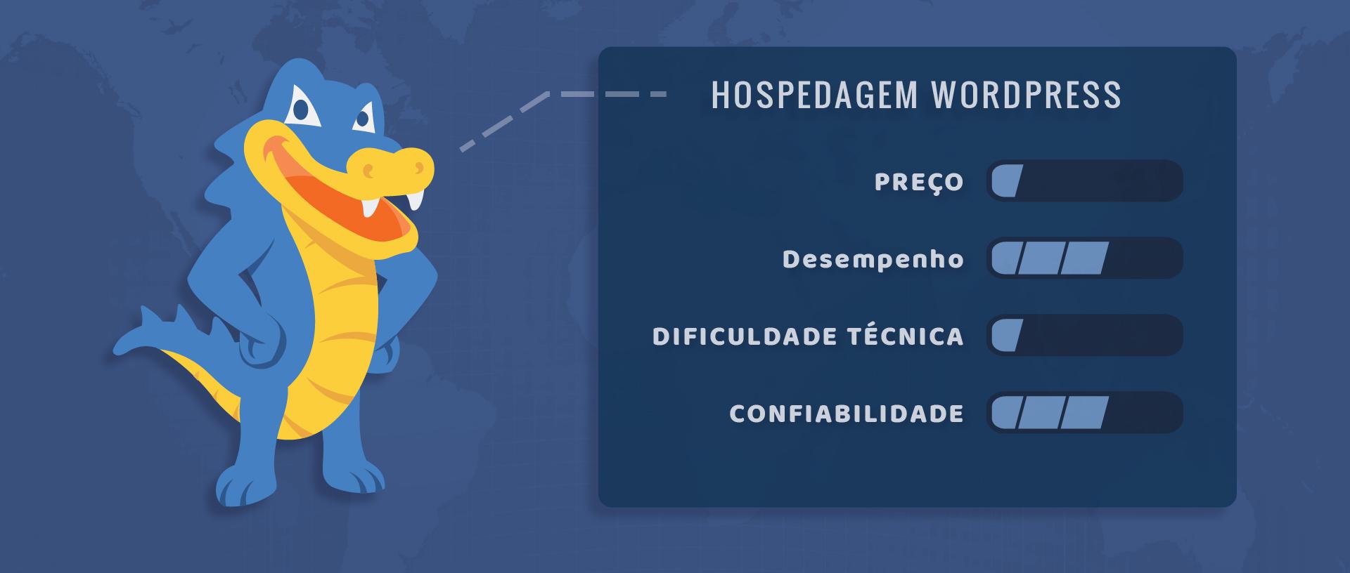 HostGator hospedagem WordPress Avaliação