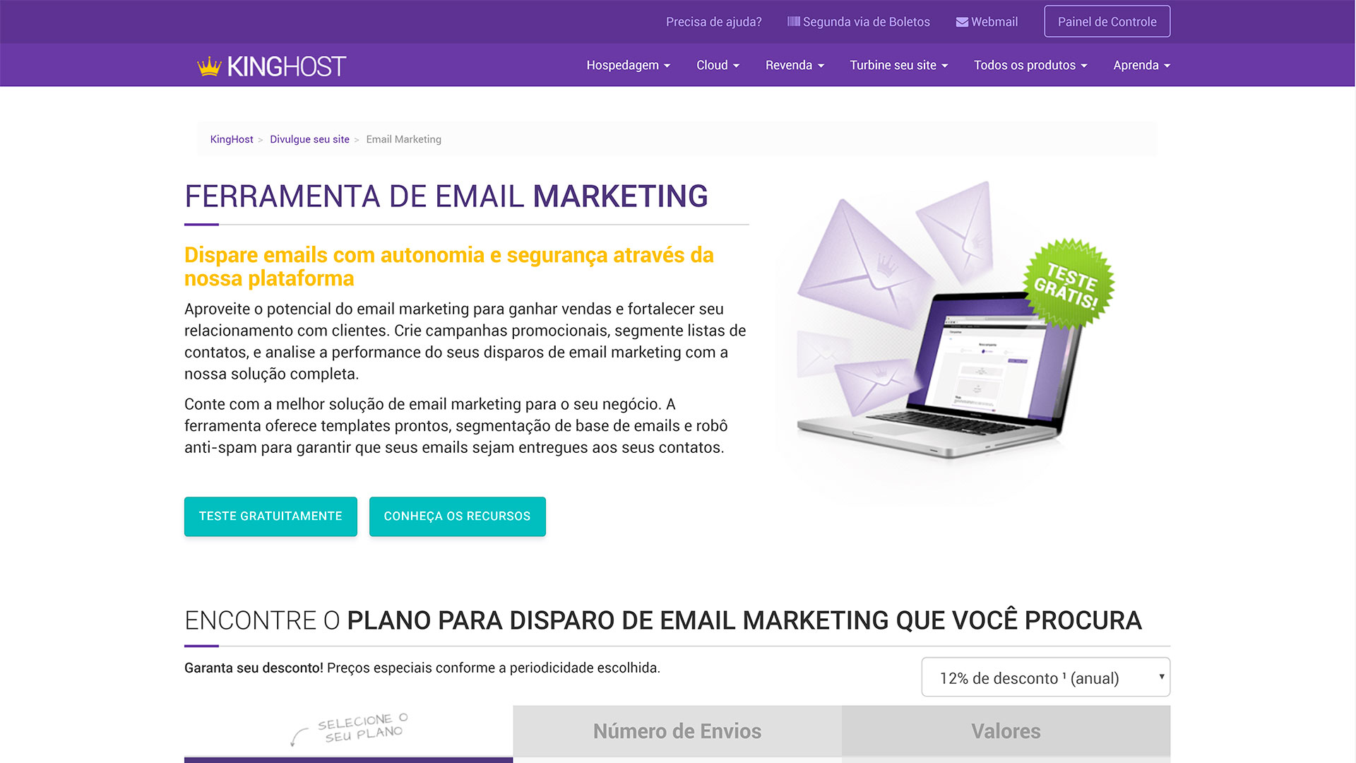 kinghost review e mail marketing