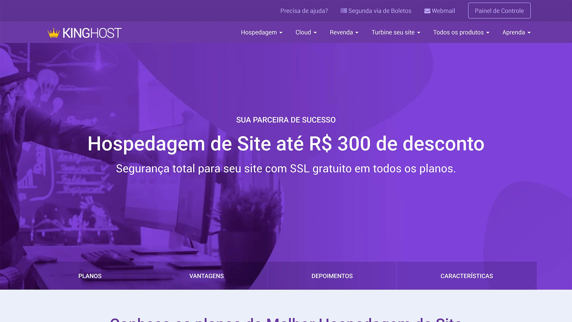 kinghost review hospedagem de sites