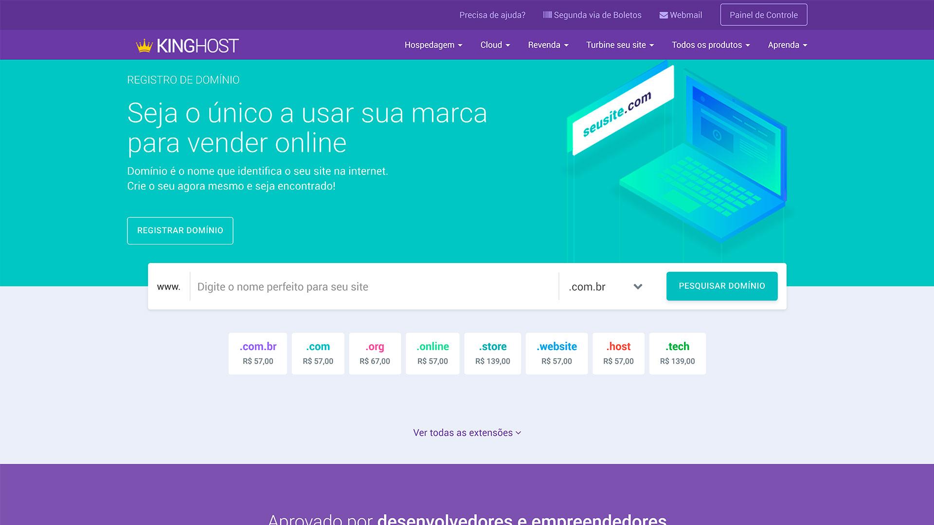 kinghost review registro de dominio