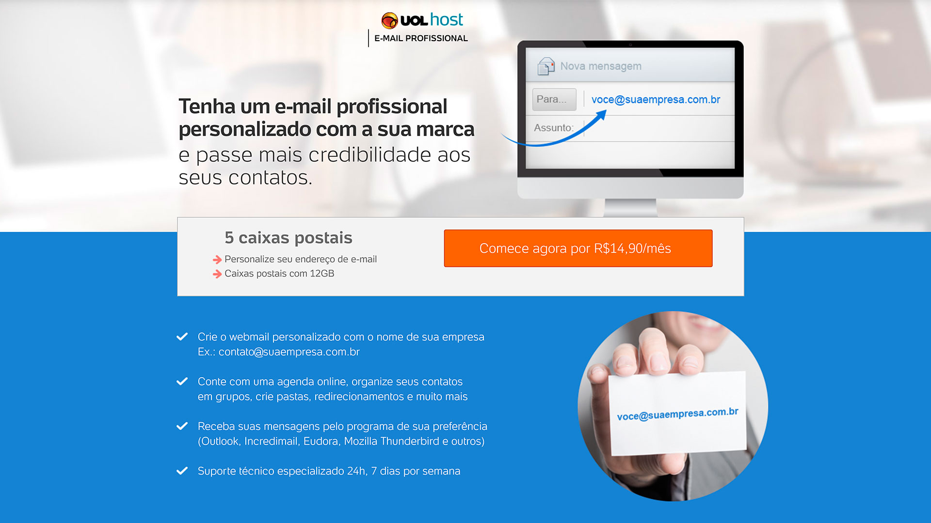 uol host e mail profissional
